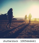 retro filtered image of a... | Shutterstock . vector #1005666661