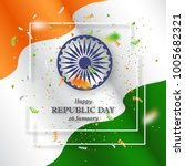 indian republic  day holiday... | Shutterstock .eps vector #1005682321