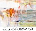 background of paint strokes | Shutterstock . vector #1005682669