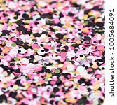 multicolored shiny texture ... | Shutterstock . vector #1005684091