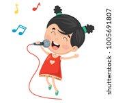 vector illustration of kid...   Shutterstock .eps vector #1005691807