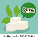 stevia concept design  | Shutterstock .eps vector #1005694441