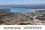 aerial view of lake macquarie...   Shutterstock . vector #1005696934
