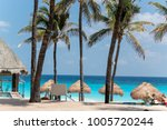 cancun's bluest waters | Shutterstock . vector #1005720244
