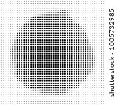 circle halftone style on white... | Shutterstock .eps vector #1005732985