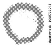 circle halftone style on white... | Shutterstock .eps vector #1005733045