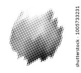 abstract halftone shape style... | Shutterstock .eps vector #1005733231