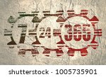 time operation mode in gear.... | Shutterstock . vector #1005735901