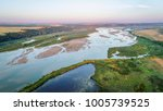 aerial photography view of... | Shutterstock . vector #1005739525