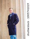 portrait of american teenage...   Shutterstock . vector #1005741019