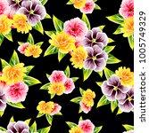 abstract elegance seamless... | Shutterstock . vector #1005749329