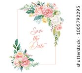 Watercolor Floral Illustration...