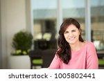 happy mature woman.   Shutterstock . vector #1005802441