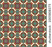 vector seamless pattern with... | Shutterstock .eps vector #1005808375