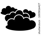 cloud icon in trendy flat style....
