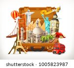 travel  tourist attraction in... | Shutterstock .eps vector #1005823987