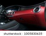 modern luxury car inside.... | Shutterstock . vector #1005830635