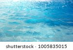 sea wave close up low angle view | Shutterstock . vector #1005835015