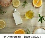 natural cosmetic skincare... | Shutterstock . vector #1005836377