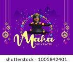 illustration of happy maha... | Shutterstock .eps vector #1005842401