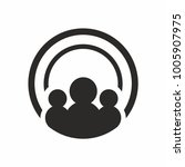 people creative logo design... | Shutterstock .eps vector #1005907975