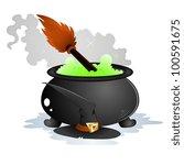 halloween vector objects | Shutterstock .eps vector #100591675