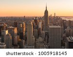 new york city  new york  usa  ... | Shutterstock . vector #1005918145