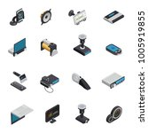 car electronics isometric icons ...   Shutterstock . vector #1005919855