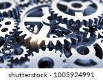 creative abstract 3d render...   Shutterstock . vector #1005924991