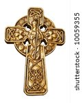 Celtic Cross With St Patrick  ...