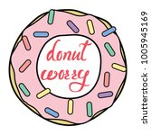 vector donut clipart with donut