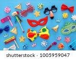 purim celebration concept ... | Shutterstock . vector #1005959047