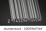 close up view of a barcode... | Shutterstock . vector #1005965764