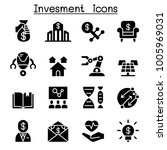 business investment icon set | Shutterstock .eps vector #1005969031
