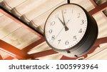 close up of vintage death clock ... | Shutterstock . vector #1005993964