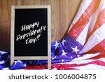 happy president's day... | Shutterstock . vector #1006004875