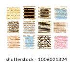 big set of vector handdrawn ... | Shutterstock .eps vector #1006021324