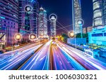 technology for smart city... | Shutterstock . vector #1006030321