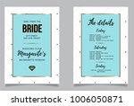 bachelorette weekend... | Shutterstock .eps vector #1006050871