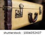 old vintage hard yeallow... | Shutterstock . vector #1006052437