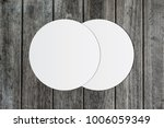 white circle paper and space... | Shutterstock . vector #1006059349
