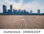 empty floor with modern... | Shutterstock . vector #1006061029