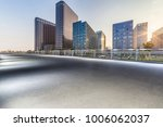 empty road with modern business ... | Shutterstock . vector #1006062037