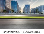 empty road with modern business ... | Shutterstock . vector #1006062061