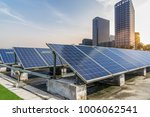 solar and modern city skyline | Shutterstock . vector #1006062541