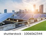 solar and modern city skyline | Shutterstock . vector #1006062544