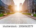 modern building and beautiful... | Shutterstock . vector #1006063579