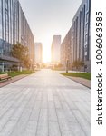 modern building and beautiful... | Shutterstock . vector #1006063585