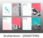 cover brochure design template  ... | Shutterstock .eps vector #1006072981