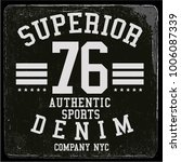 vintage varsity graphics and... | Shutterstock .eps vector #1006087339